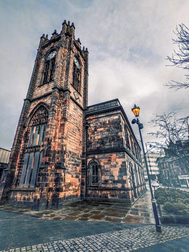St Trinity Church Manchester Google Pixel 5 Camera